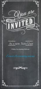 Xero user invite