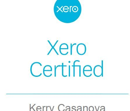 Kerry Casanova Xero Certified Adviser and trainer